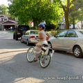 Riding Huffy to Grocery Store Taking off