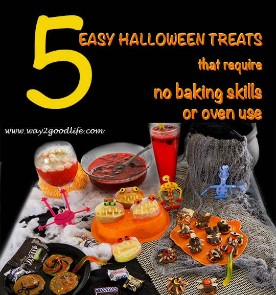 5 easy Halloween treats that require no skills #shop