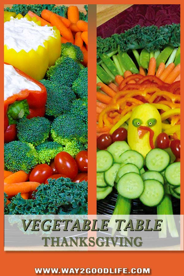 Looking to make healthier side dishes this Thanksgiving? You can't do healthier than this! Check out our Vegetable Thanksgiving Table!