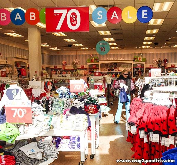 Carter's Baby sale
