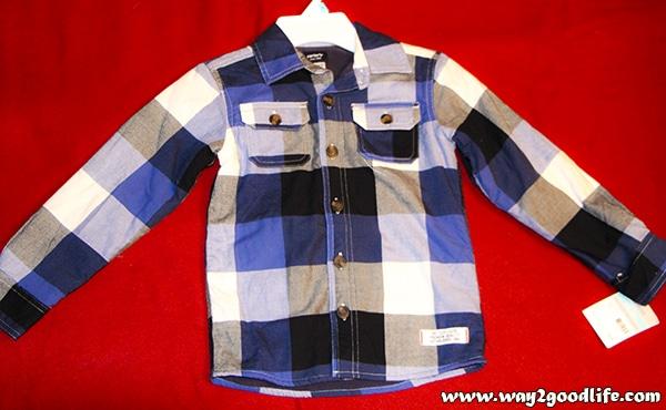 Carter's - love this warm shirt
