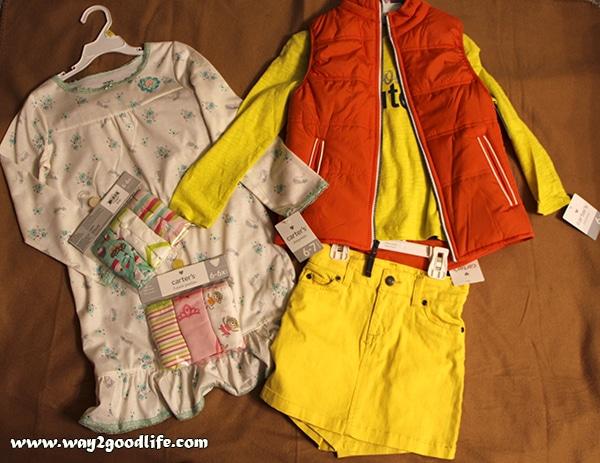 Carter's - girl clothes