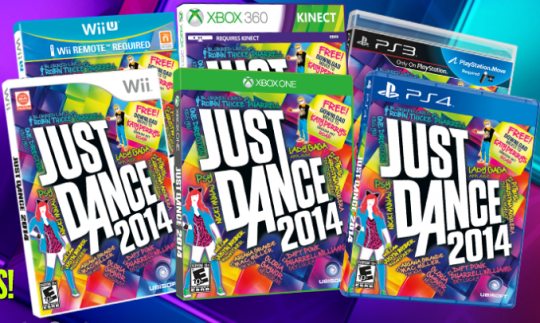 Best Health Gifts - Just Dance Game 2014