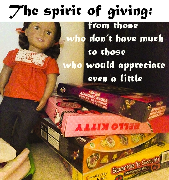 Making holidays count - how to get into a spirit of giving