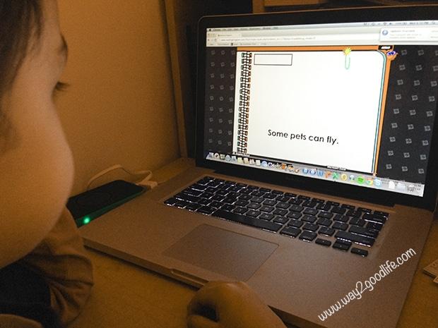Online Preschool Sensory Activities - studying