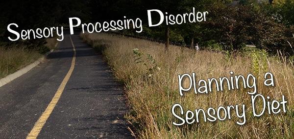 Sensory Diet Plan: Start working on it now