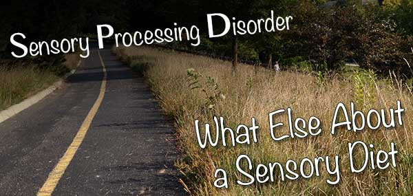 What Else Do You Need to Know About a Sensory Diet?