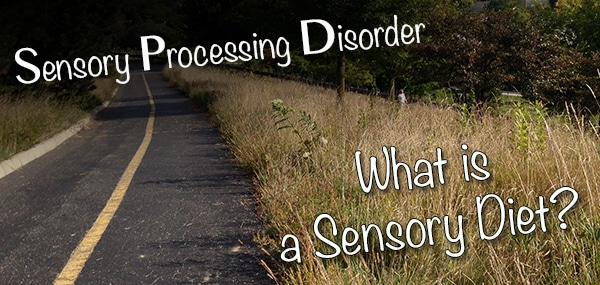 What is a sensory Diet?