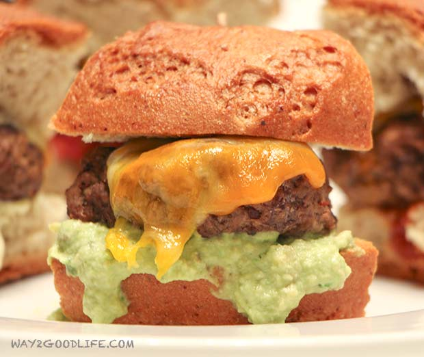 Sliders With Avocado And Chipotle Mayonnaise Recipes — Dishmaps