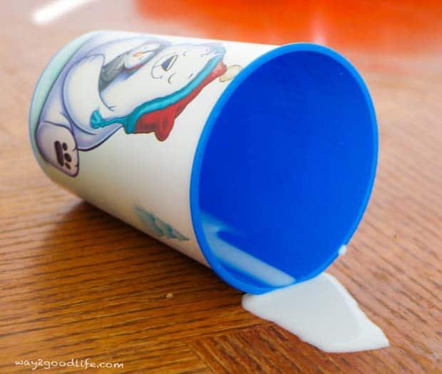 Hallmark-Northpole-spilled-milk