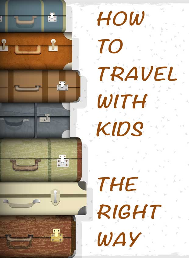 Travel with kids on the plane is exciting and intimidating. The first time we traveled I did it all wrong. This my packing list to air travel with kids