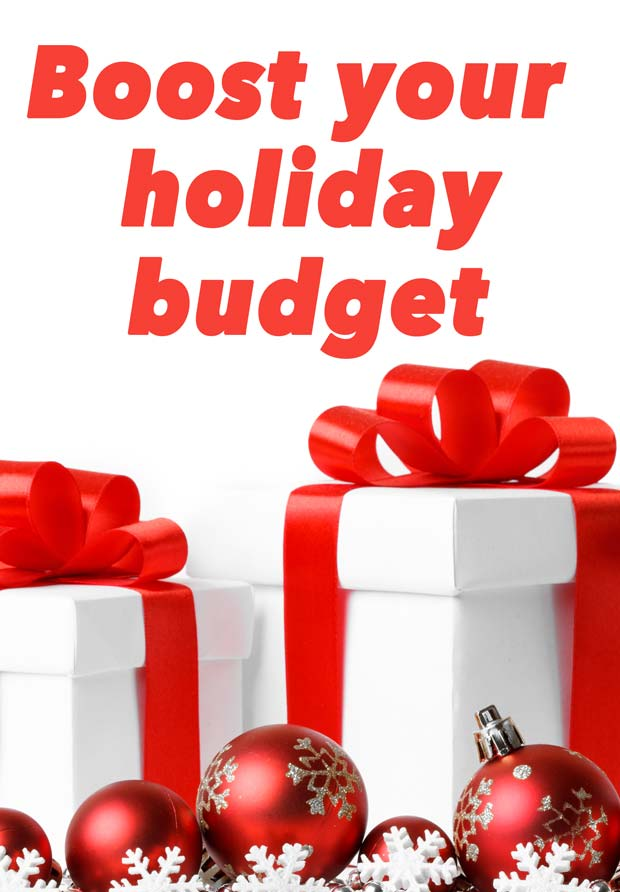 Boost your family holiday budget