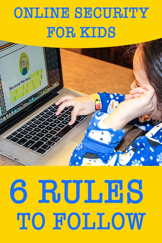 Online Security for Kids: 6 rules to follow
