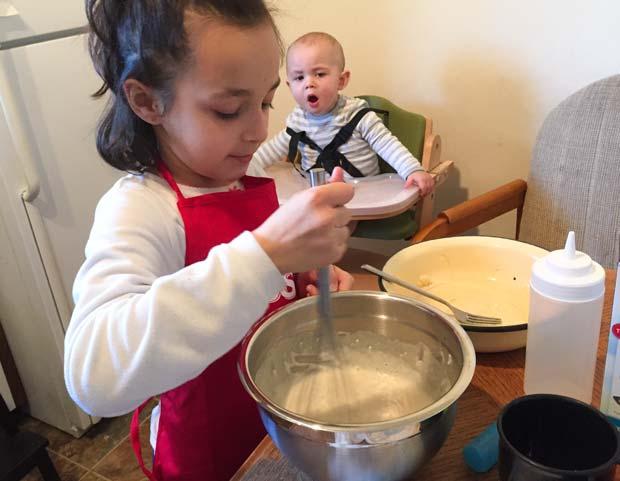 making-pancakes