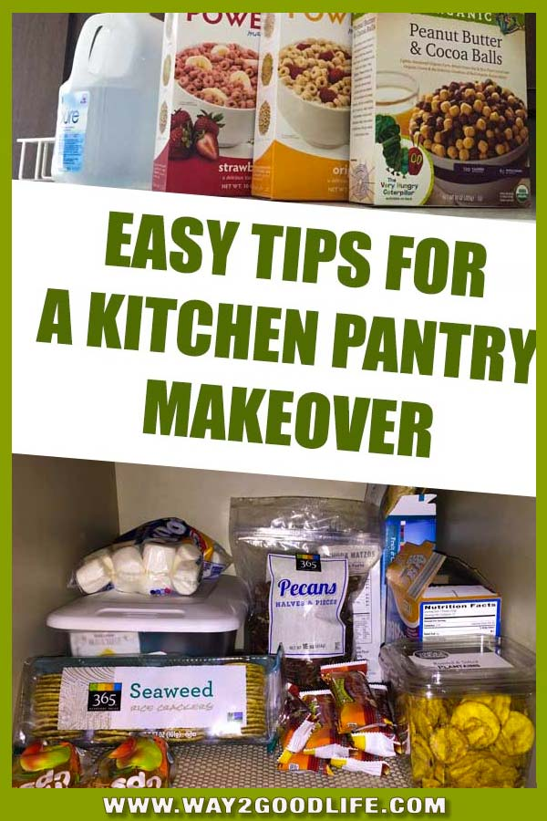 Kitchen pantry organization ideas any busy mom can use! It is your food storage place - learn how to organize it!