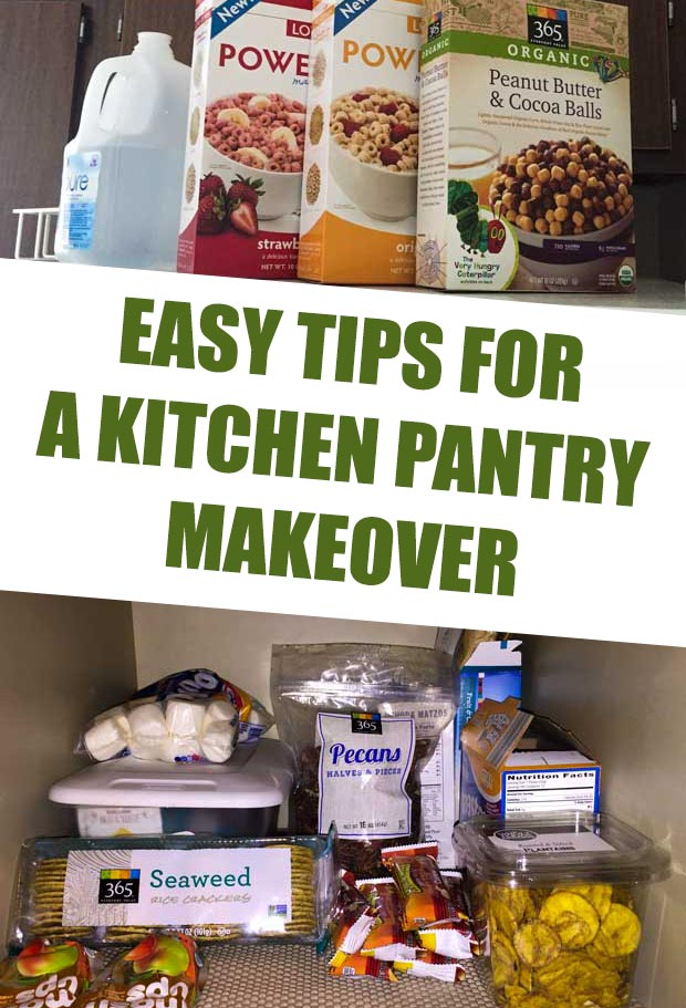 Easy Tips for a Kitchen Pantry Makeover