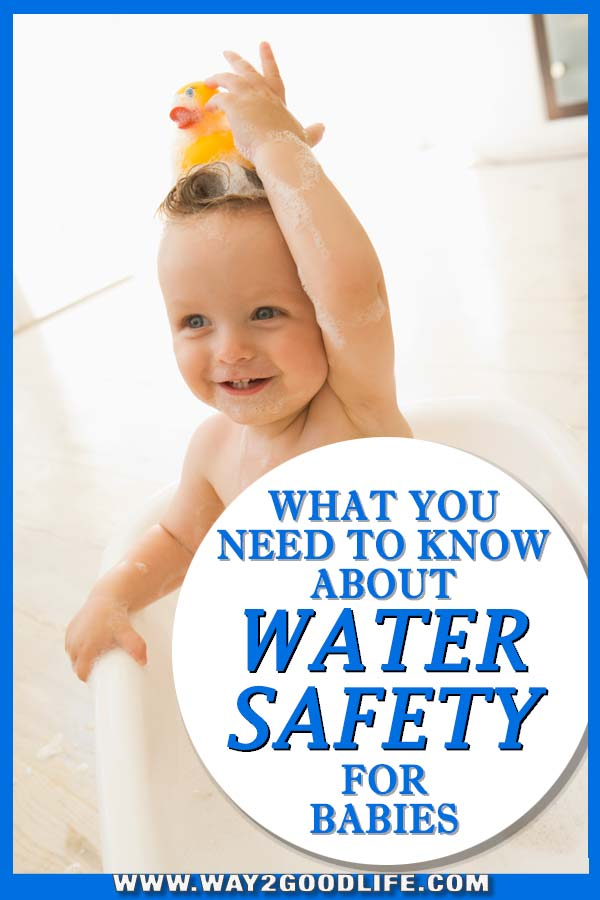 What you need to know about water safety for babies