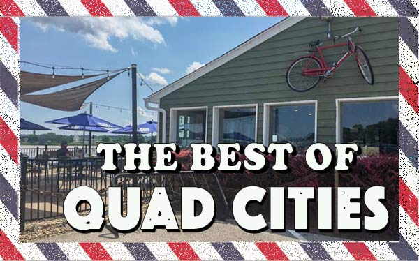 Quad Cities - great family weekend getaway and a one tank trip from Chicago. Fun Midwest destination with something for everyone #way2goodlife #familytravel #midwest #Quadcities