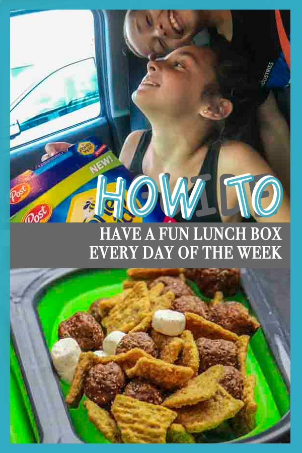 Have fun with your kids' lunch boxes to keep it fresh for you and your kids #AD