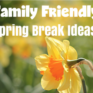 Family Friendly Spring Break Ideas