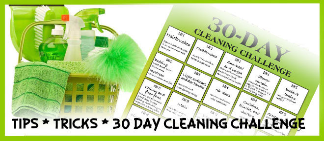 Spring Cleaning Tips - Your Checklist and 30-Day Cleaning Challenge #springcleaning #way2goodlife