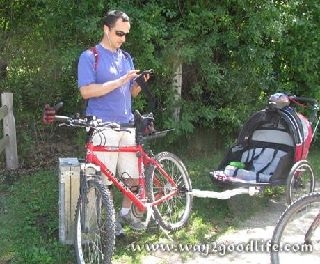 Alex w bike