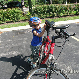 bike - young boy w bike