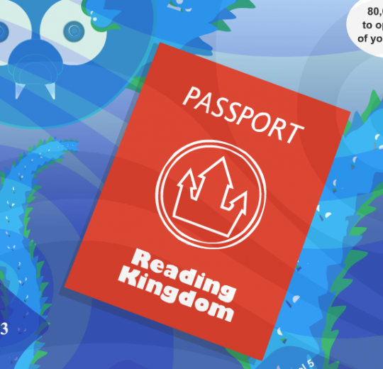Learning with Reading Kingdom - passport