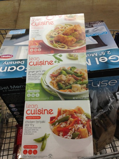 Lean Cuisine #CBias - store package