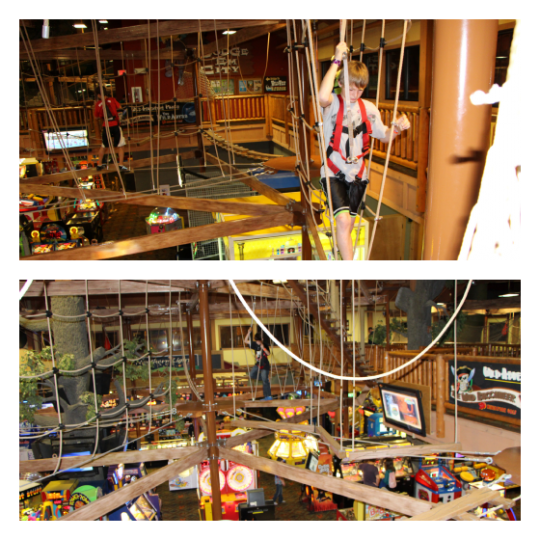 Wilderness Territory-Rope Course