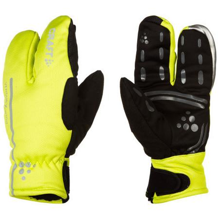 Winter Cycling - lobster gloves