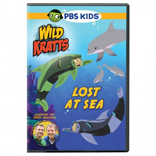 Kratts Bros - Lost At See DVD Cover