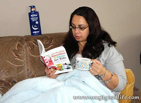 #NIVEA Heart Moments_Reading a book