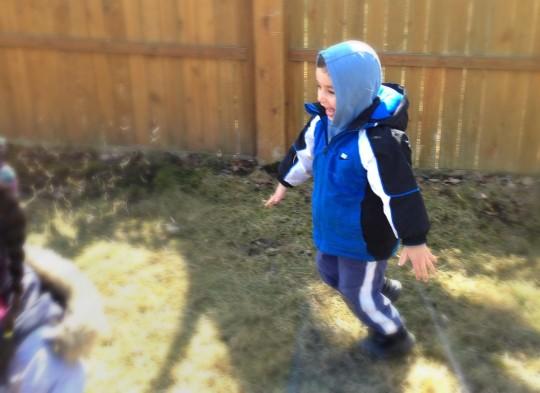 Smartphone Photography - Kid-running