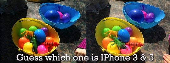 Smartphone Photography - two pictures taken with iPhone 3 and iPhone 5