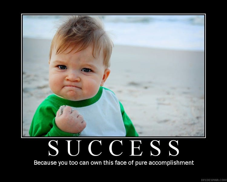 The face of SUCCESS_Plan to succeed