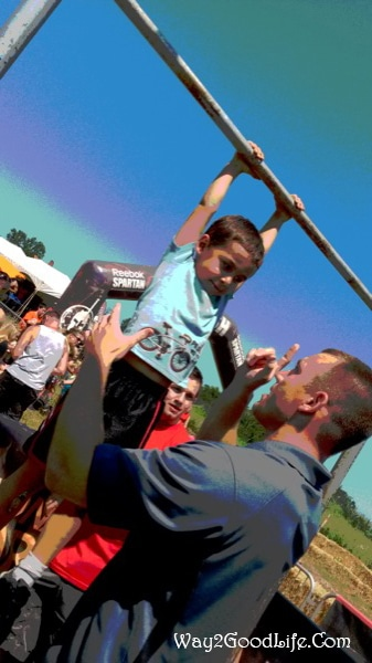 Spartan Race kids moment