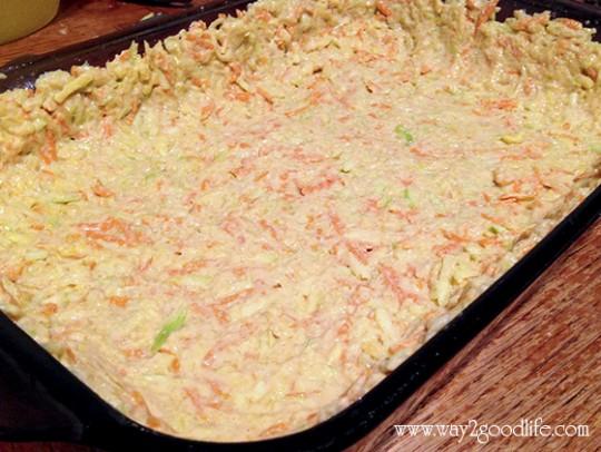 Gluten free quiche crust
