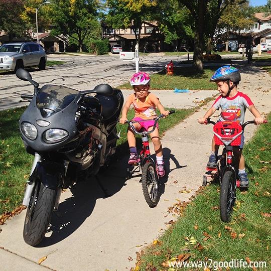 Bicycle Season - Fall