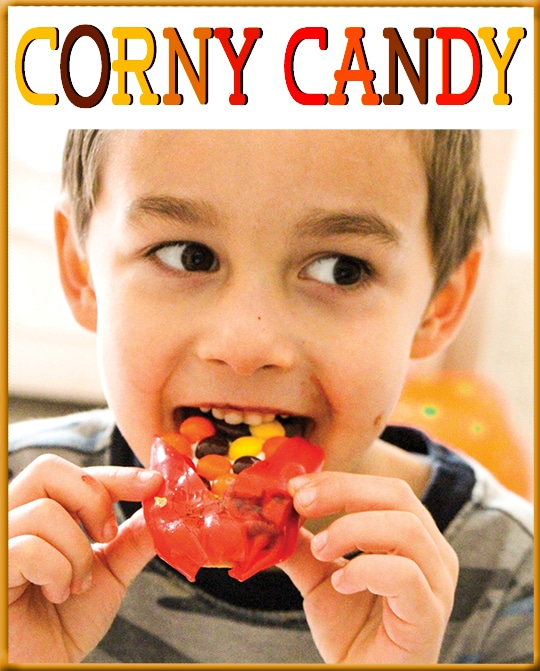 From Halloween candy to Thanksgiving Treats in Minutes - Corny Candy
