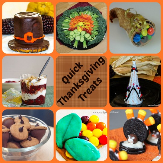 Quick Thanksgiving Treats