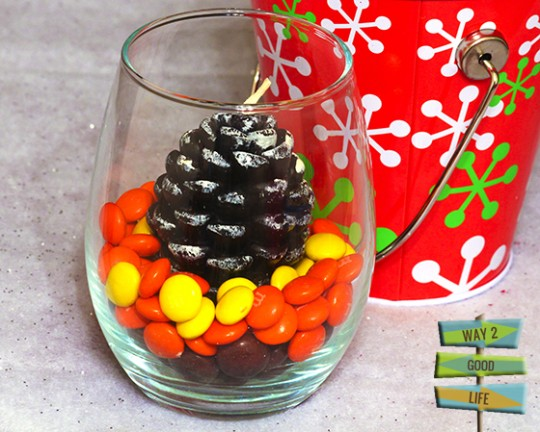 M&Ms candle gift idea #shop