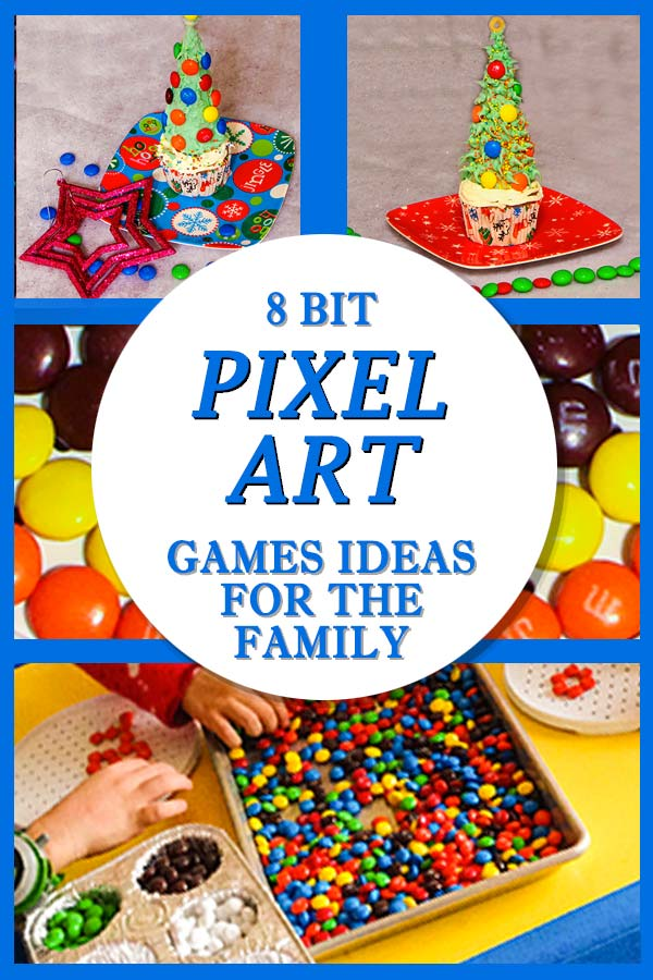 QUICK AND EASY TO DO: 8 bit pixel art games ideas
