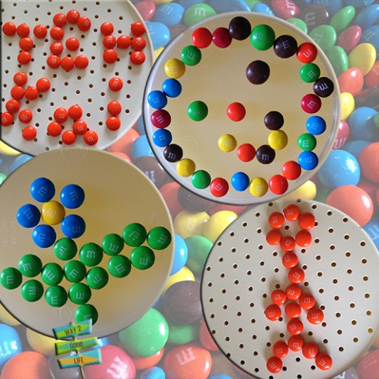 8-px-art-MnMs-Pixel art #shop