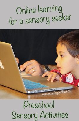 Online Preschool Sensory Activities