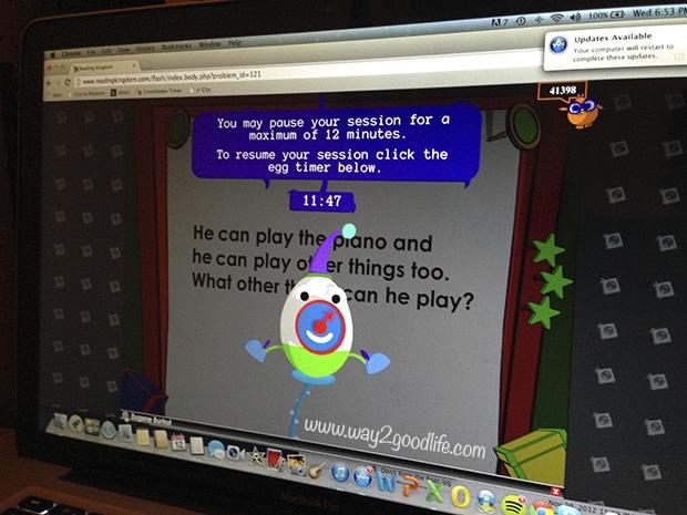 Online Preschool Sensory Activities - timer