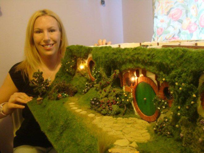 Hobbit Doll House - Crazy Doll Houses