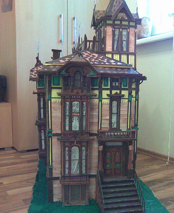 Victorial Doll House - Crazy Doll Houses