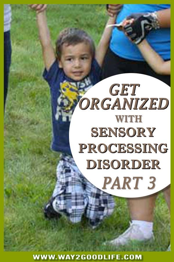 GET ORGANIZED WITH SPD - part 3