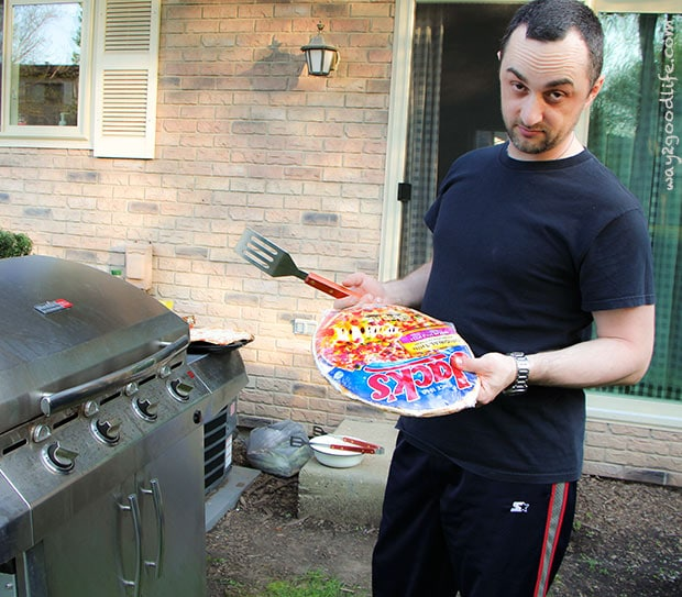 Do you seriously expect me to grill pizza? - Grilled Pizza Party